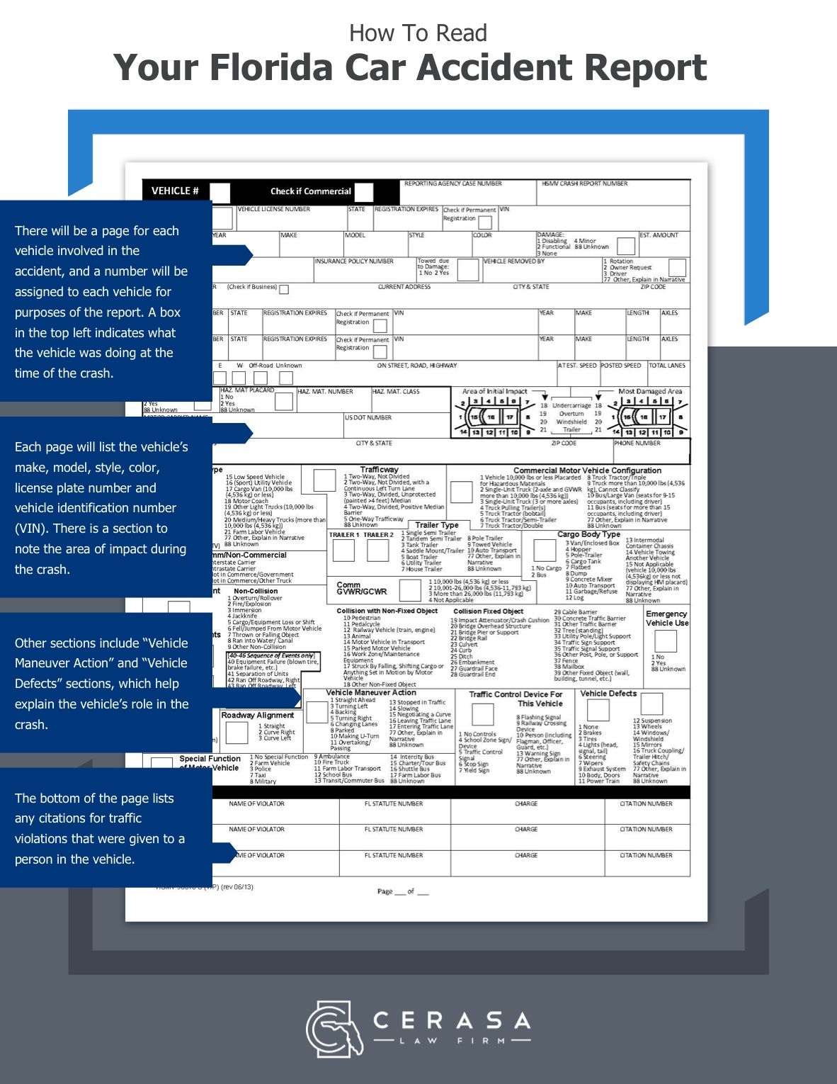 How To Read Your Accident Report page 4